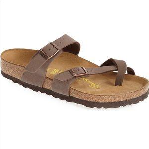 Birkenstock Mayari Mocha birko flor Sandals 38=7
